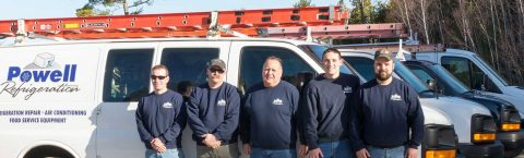 Powell Refrigeration Crew